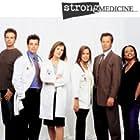 Patricia Richardson, Rosa Blasi, Philip Casnoff, Josh Coxx, Brennan Elliott, and Jenifer Lewis in Strong Medicine (2000)