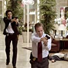 Kiefer Sutherland and Eva Longoria in The Sentinel (2006)