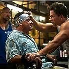 Mark Wahlberg, Tony Shalhoub, and Dwayne Johnson in Pain & Gain (2013)