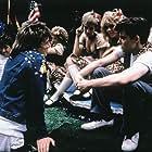 Matthew Broderick, John Hughes, and Lee Ann Marie in Ferris Bueller's Day Off (1986)