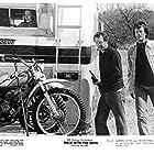 Peter Fonda, Warren Oates, and Lara Parker in Race with the Devil (1975)