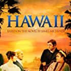 Julie Andrews, Richard Harris, Max von Sydow, and Jocelyne LaGarde in Hawaii (1966)