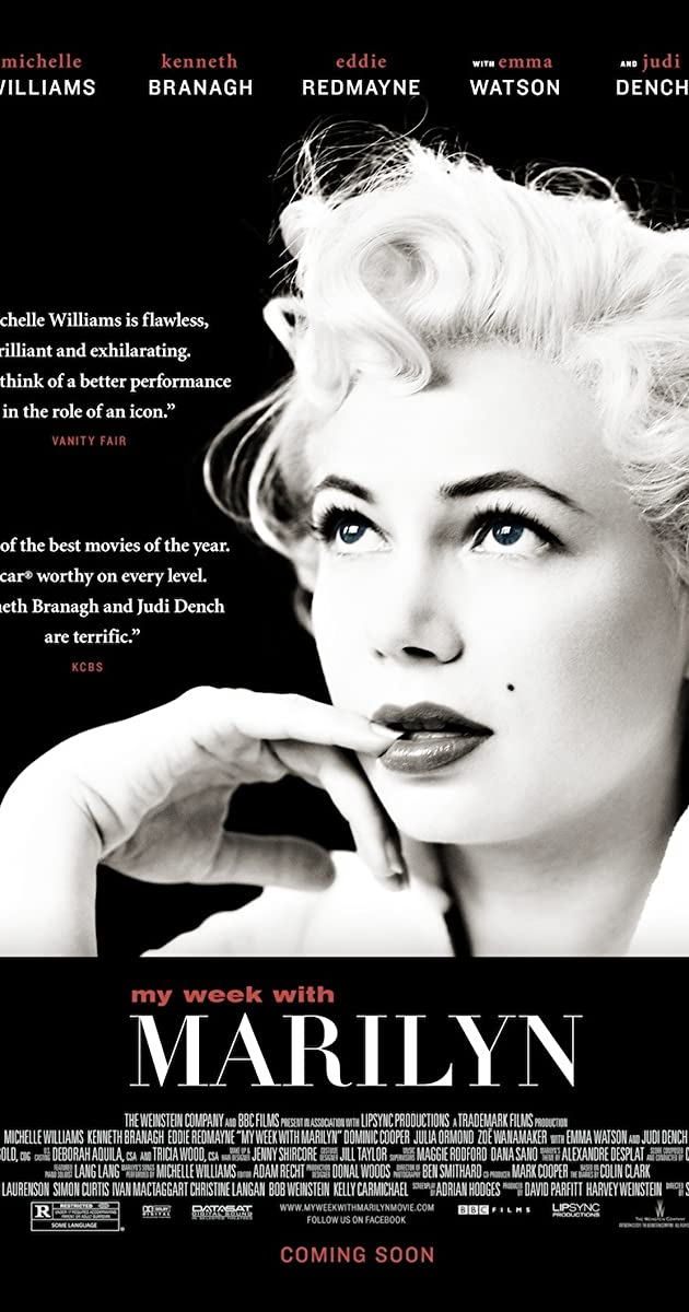 Subtitle of My Week with Marilyn