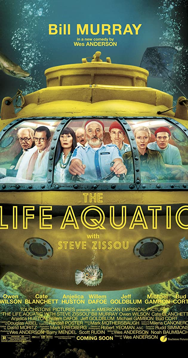Subtitle of The Life Aquatic with Steve Zissou