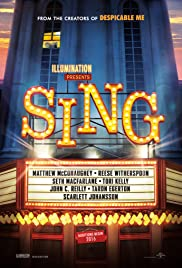 Watch Full HD Movie Sing (2016)