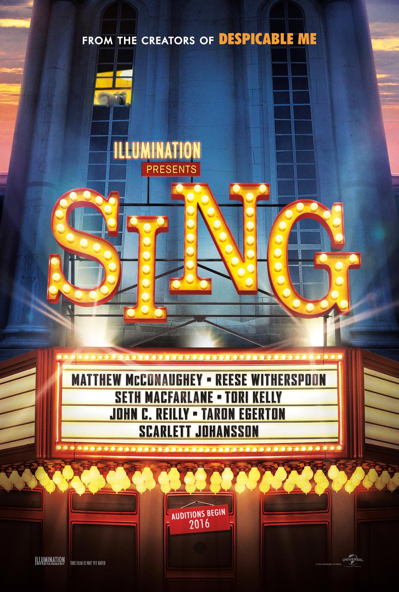 Sing (2016) BluRay 720p, 1080p & 4K-2160p