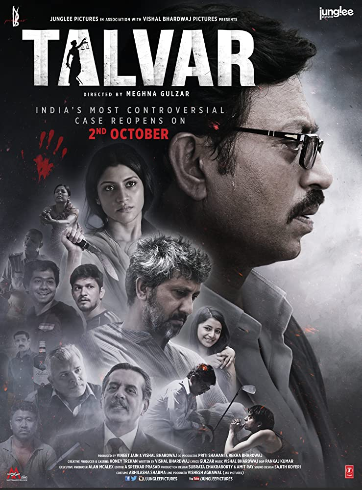 Talvar 2015 Hindi Movie BluRay 300mb 480p 1.2GB 720p 4GB 10GB 14GB 1080p