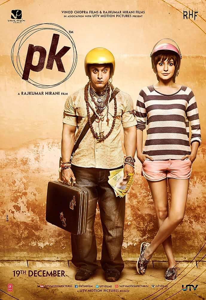 PK (2014) Hindi BluRay x264 AAC Msub