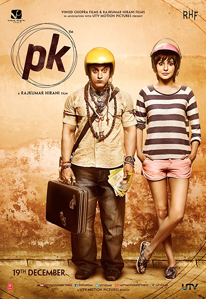 PK 2014 Hindi Movie BluRay 400mb 480p 1.3GB 720p 4GB 12GB 16GB 1080p