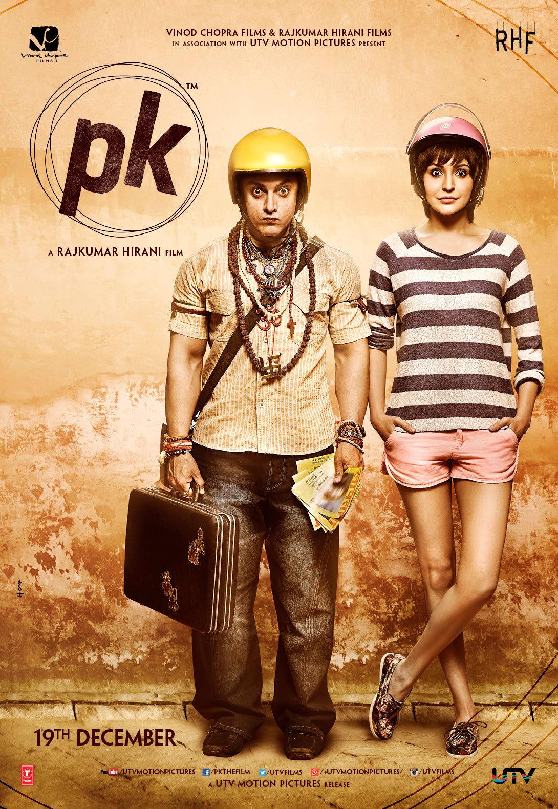 PK (2014) Hindi Full Movie 480p, 720p Download