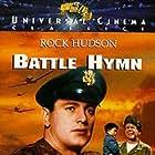 Rock Hudson, Dan Duryea, and Martha Hyer in Battle Hymn (1957)