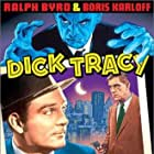 Boris Karloff and Ralph Byrd in Dick Tracy Meets Gruesome (1947)