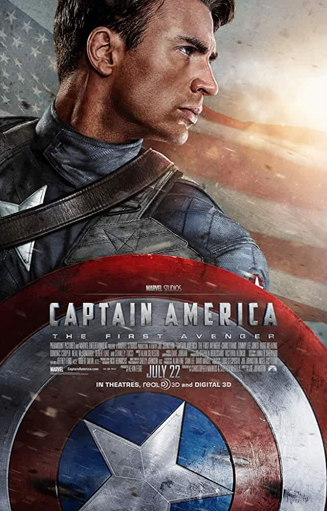 Captain America: The First Avenger (2011) Full Movie Download In Hindi-English (Dual Audio) Bluray 480p [385MB] | 720p [870MB] | 1080p [1.8GB]
