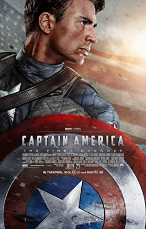 poster for Captain America: The First Avenger