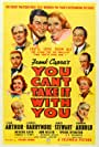 James Stewart, Jean Arthur, Lionel Barrymore, Spring Byington, Edward Arnold, Mischa Auer, Samuel S. Hinds, Donald Meek, and Ann Miller in You Can't Take It with You (1938)