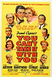 You Can't Take It with You (1938) Poster - Movie Forum, Cast, Reviews