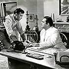 Raymond Burr and Scott Brady in Mannequins für Rio (1954)