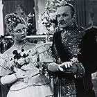 Alla Larionova and Aleksandr Vertinskiy in Anna na shee (1954)