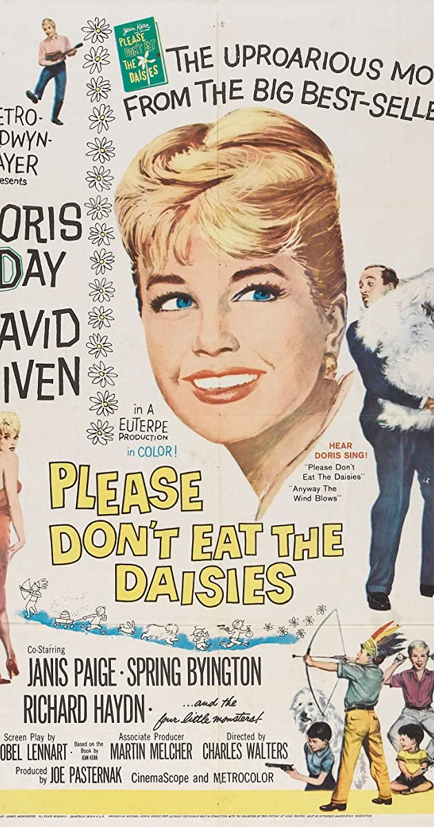 Please Don T Eat The Daisies 1960 Imdb