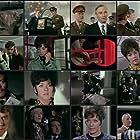 Patrick Macnee, Alan Browning, William Marlowe, Bryan Marshall, and Linda Thorson in The Avengers (1961)