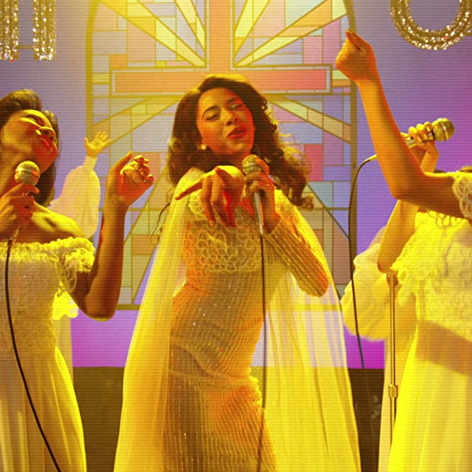 Herizen F. Guardiola, Stefanée Martin, and Shyrley Rodriguez in The Get Down (2016)