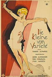 Die Kleine vom Varieté Poster