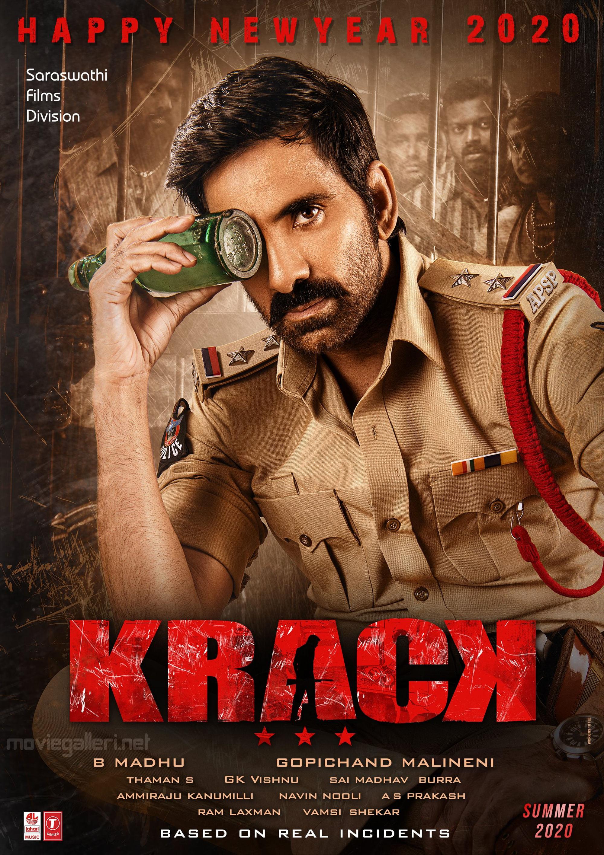 Krack 2021 Telugu 720p HQ DVDSrc 900MB | 415MB Download