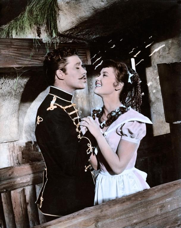 Liselotte Pulver and Jan Hendriks in Helden (1958)