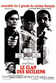 The Sicilian Clan (1969) with English Subtitles on DVD on DVD