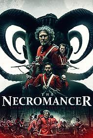 Stuart Brennan, Marcus Macleod, Mark Paul Wake, Charlie Morgan, David Izatt, Austin Caley, and Alasdair Blair in The Necromancer (2018)
