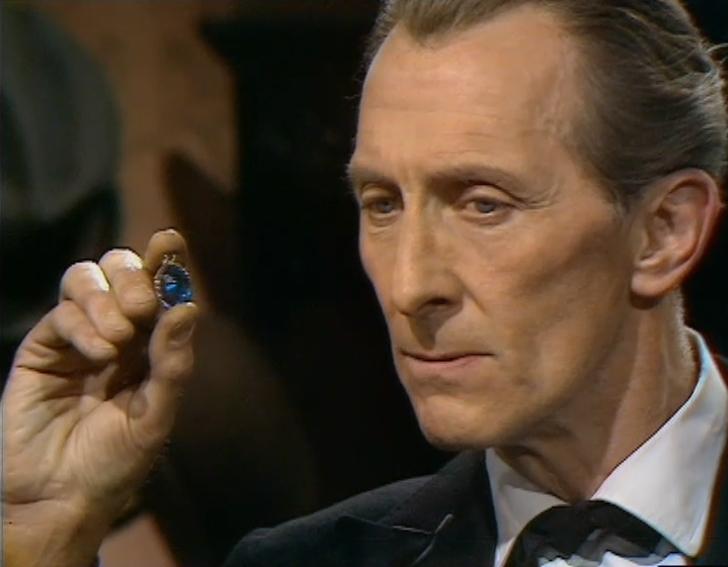Peter Cushing in Sherlock Holmes (1964)