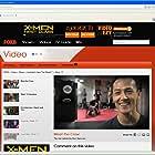 Screenshot of Khanh Trieu in FOX 8 TV series 'Australia's Next Top Model' 2011.