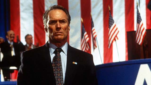 Clint Eastwood in In the Line of Fire (1993)