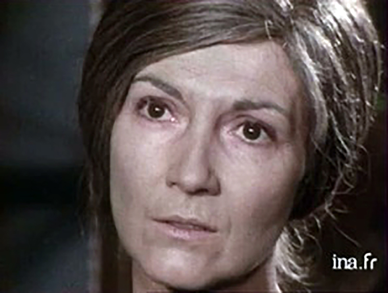 Martine Sarcey in La porteuse de pain (1973)