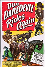 Don Daredevil Rides Again Poster