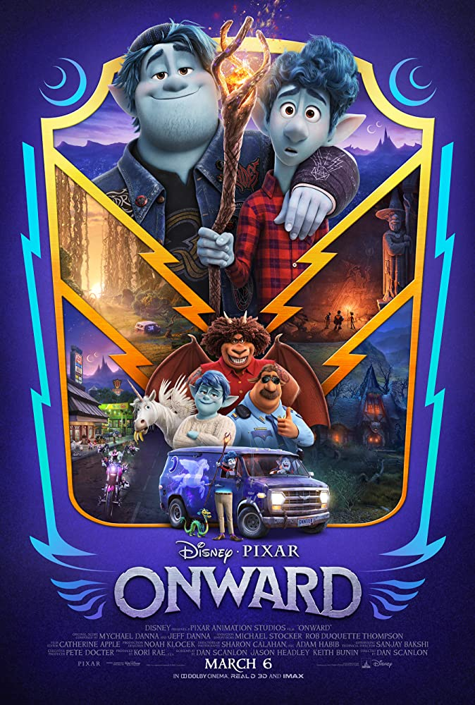 Onward 2020 Dual Audio Hindi Dubbed  English 720p