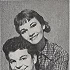 Gloria Talbott and Russ Tamblyn in The Young Guns (1956)