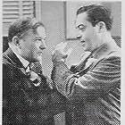 Harold Huber and Willard Robertson in Main Street Lawyer (1939)