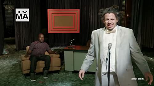 Eric Andre tries to host a talk show in a bizarre environment, where he is sometimes the player of pranks and sometimes the victim.