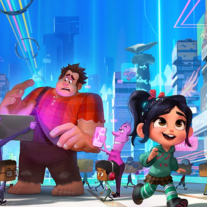 John C. Reilly and Sarah Silverman in Ralph Breaks the Internet (2018)