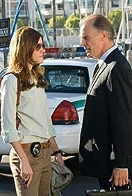 Keith Carradine and Jennifer Carpenter in Dexter (2006)