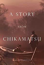 A Story from Chikamatsu Poster