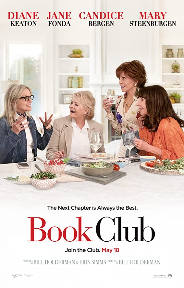 Candice Bergen, Jane Fonda, Diane Keaton, and Mary Steenburgen in Book Club (2018)