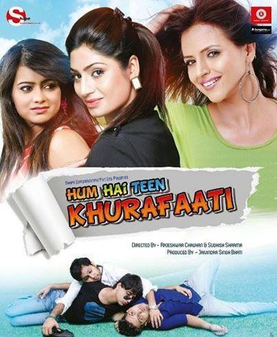 Hum Hai Teen Khurafaati 2014 Hindi Movie JC WebRip 300mb 480p 1GB 720p 3GB 11GB 1080p