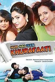 Hum Hai Teen Khurafaati Poster