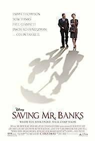 Tom Hanks and Emma Thompson in Saving Mr. Banks (2013)