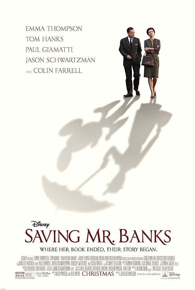 Saving Mr Banks verteld het emotionele verhaal dat achter Mary Poppins zit