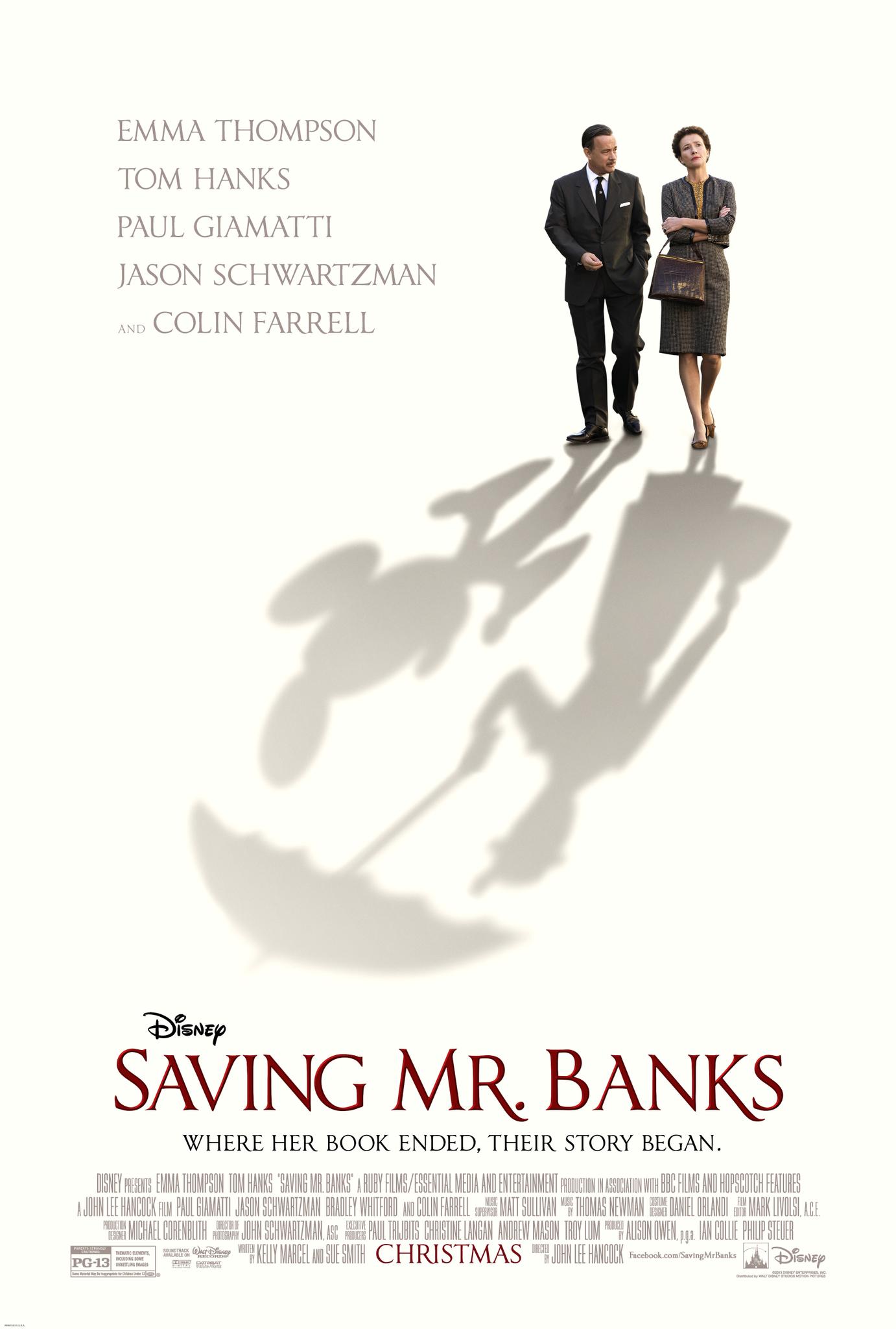 Saving Mr. Banks (2013) BluRay 720p & 1080p