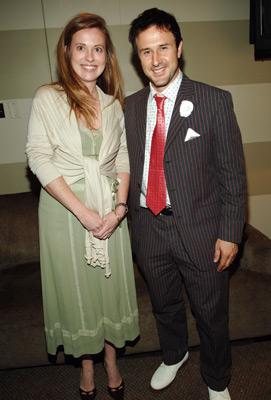 David Arquette and Daisy Donovan