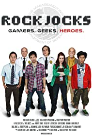 Robert Picardo, Gerry Bednob, Andrew Bowen, Jason Mewes, Felicia Day, Justin Chon, and Kevin Wu in Rock Jocks (2012)
